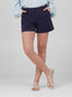 Womens Navy Susannah Short Alternate View