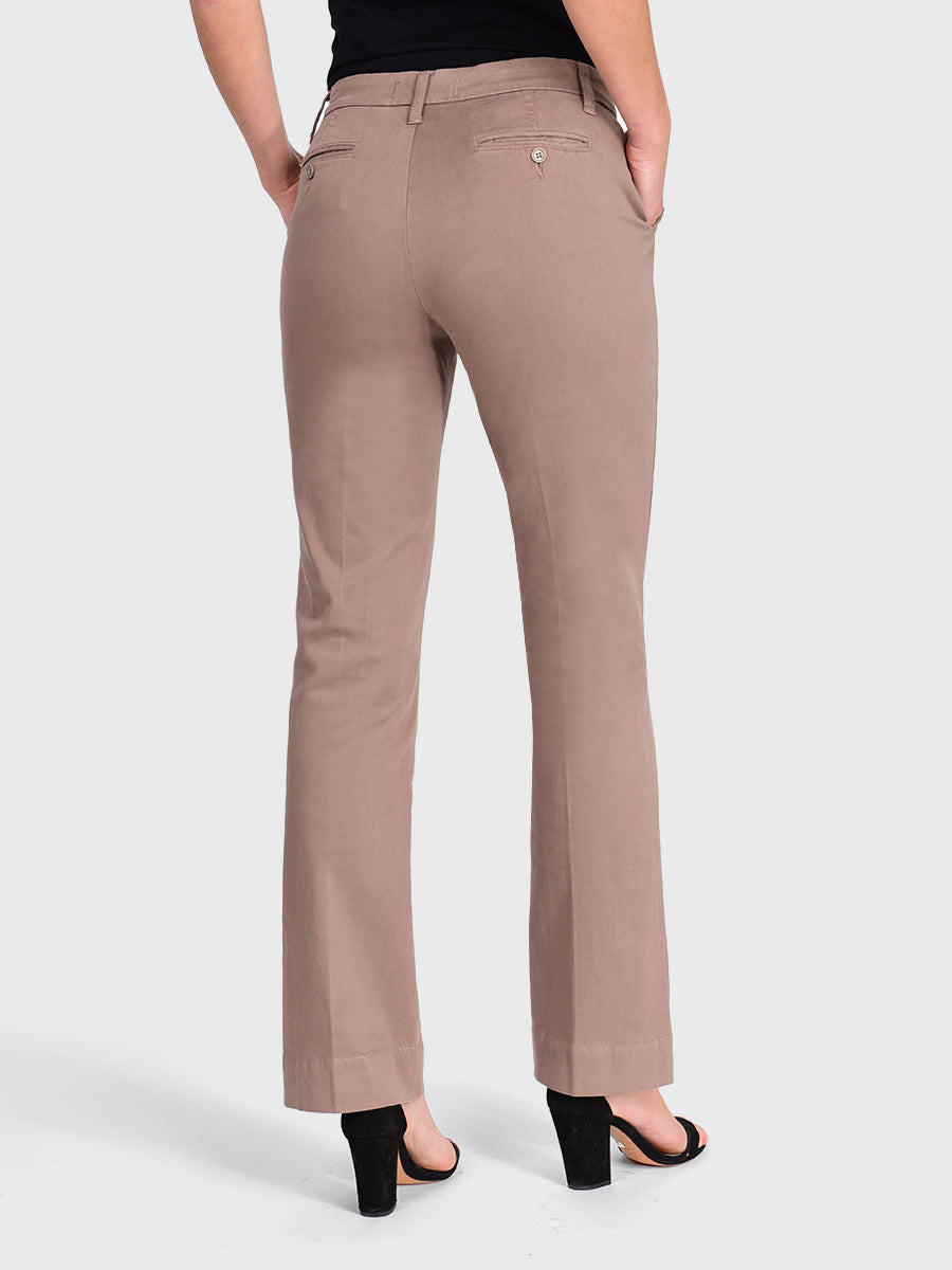 Womens Taupe Grey Jenalyn Bootcut Trouser 6