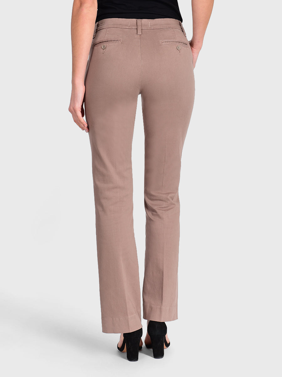 Womens Taupe Grey Jenalyn Bootcut Trouser 7