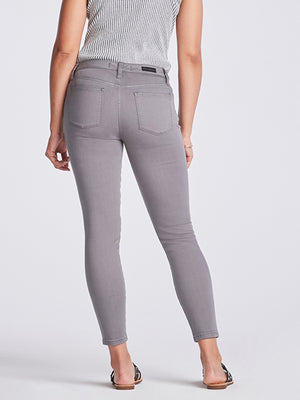 Womens Washed Grey Louise Skinny Ankle 4