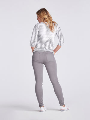 Womens Washed Grey Louise Skinny 4