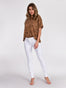 Womens White Louise Skinny 2