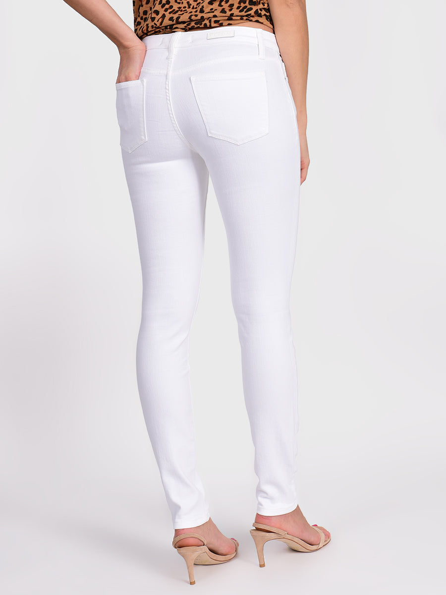 Womens White Louise Skinny 6
