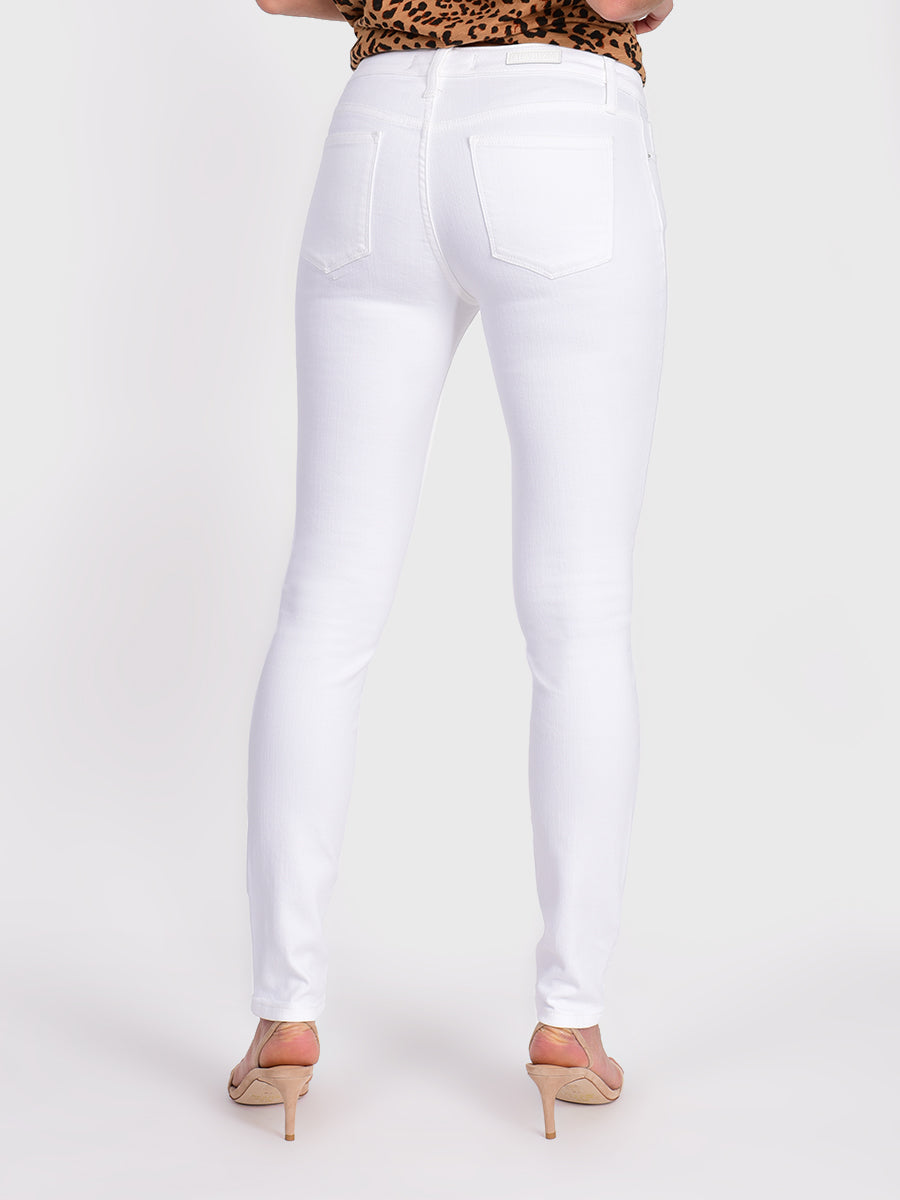 Womens White Louise Skinny 7