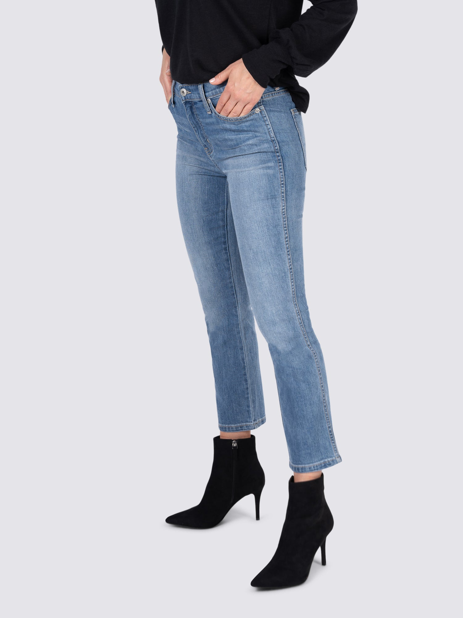Womens Wrightwood Jordan High-Rise Cropped Straight