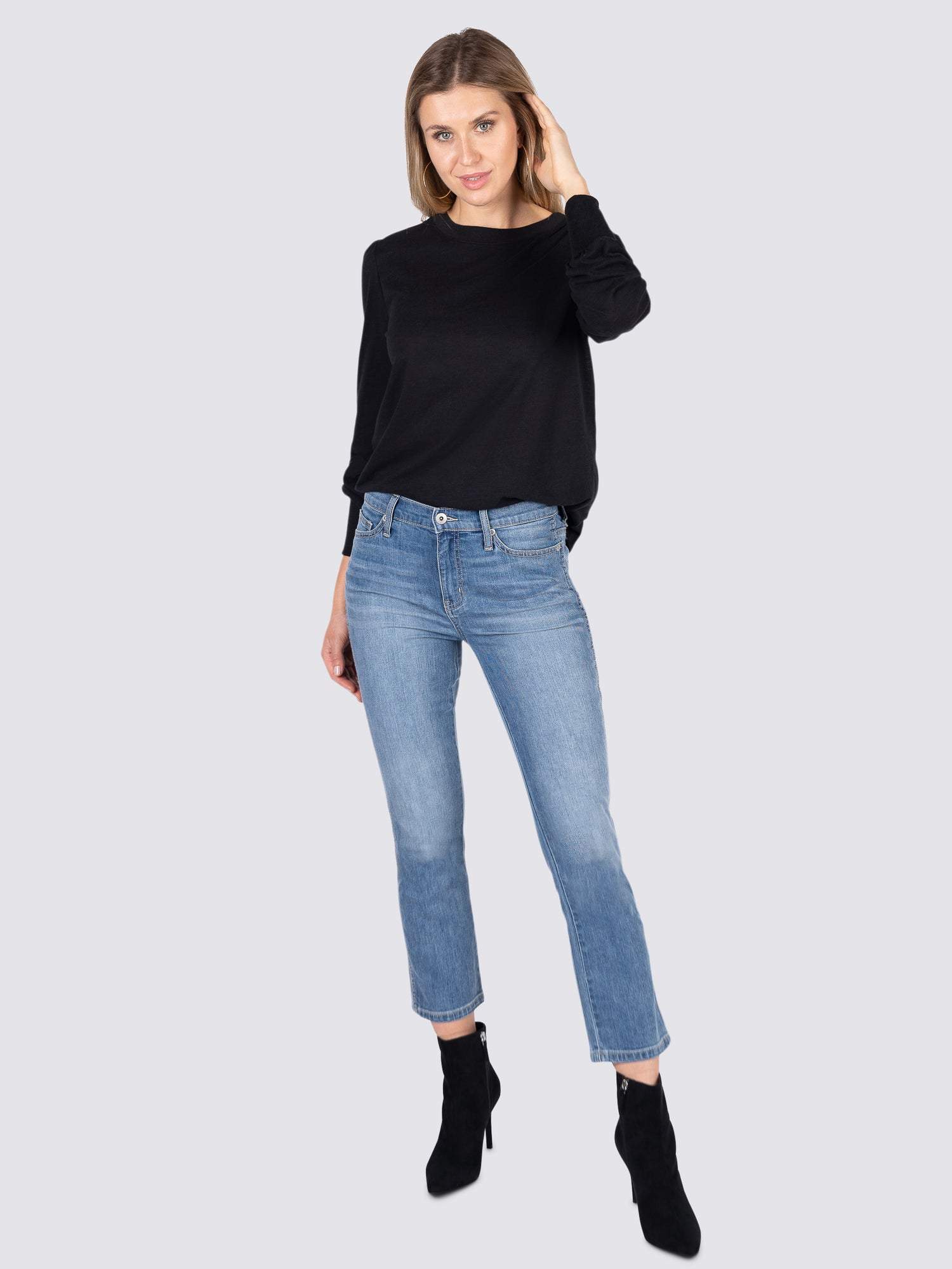 Womens Wrightwood Jordan High-Rise Cropped Straight 7