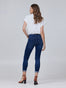 Dorianna Mid-Rise Cropped Skinny w/ Cuff Alternate View