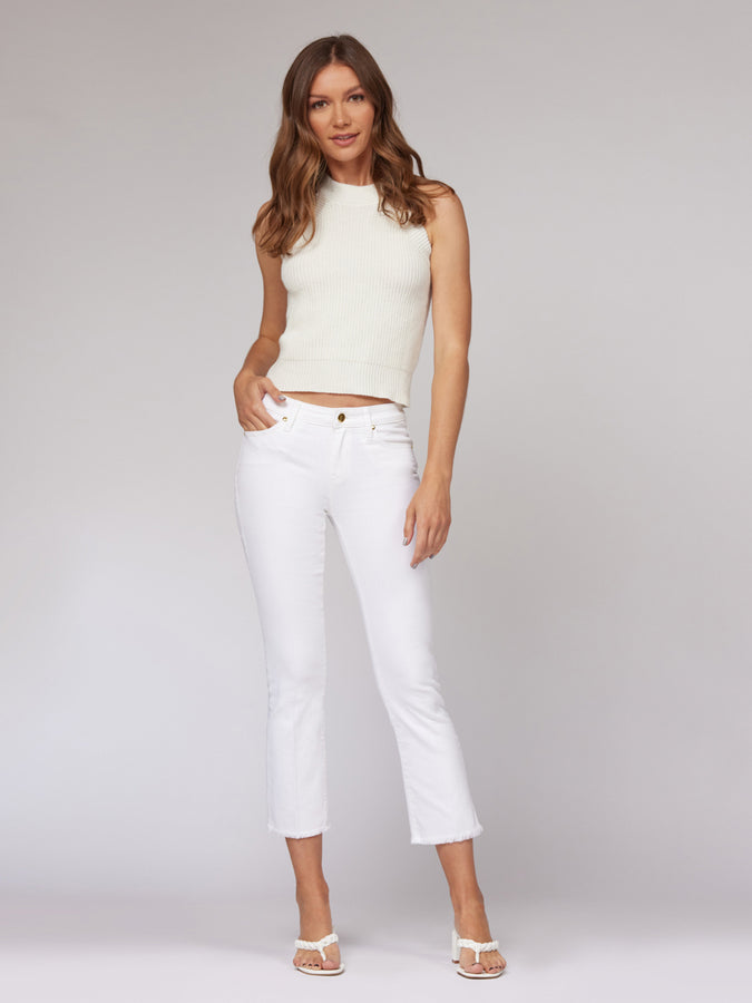 Stephanie Cropped Flare