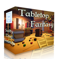 Tabletop Fantasy Pack - Over 65 Unique Sounds (222 files!)