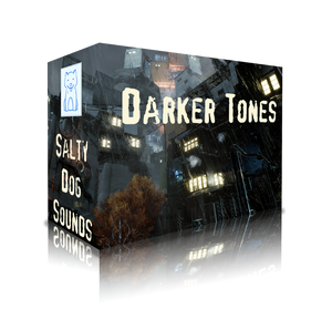 Darker Tones - 15 Edgy Loops