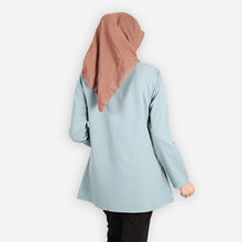 Load image into Gallery viewer, Jafeerah Premium Blouse (turquoise) - HannahSG