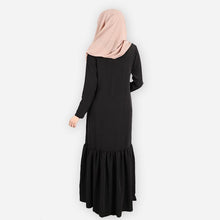 Load image into Gallery viewer, Rumaisa Premium Jubah (black)