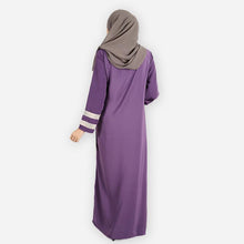 Load image into Gallery viewer, Fizzah Premium Jubah (dark purple) - HannahSG