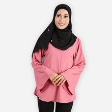 Load image into Gallery viewer, Harika Premium Blouse (rose) - HannahSG
