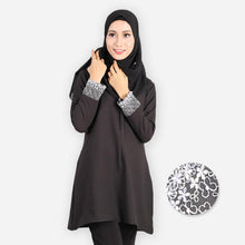 Load image into Gallery viewer, Mishaali Premium Blouse (black) - HannahSG