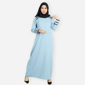 Hariya Premium Jubah (light blue) - HannahSG