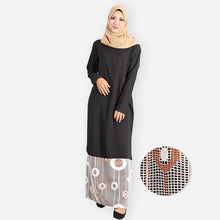 Load image into Gallery viewer, Aqeela Premium Jubah (black) - HannahSG
