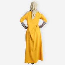 Load image into Gallery viewer, Zaheera Premium Jubah (yellow)