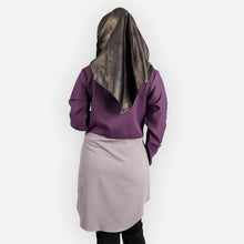 Load image into Gallery viewer, Abella Two Tone Long Blouse (dark purple)