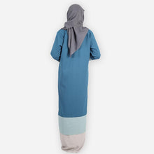 Load image into Gallery viewer, Caliana Premium Jubah (blue) - HannahSG
