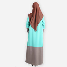 Load image into Gallery viewer, Elly Premium Jubah (mint green) - HannahSG