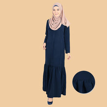Load image into Gallery viewer, Djamila Pocket Flowy Ruffle Jubah - HannahSG