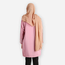 Load image into Gallery viewer, Tasmia Curvy Long Blouse (pink) - HannahSG