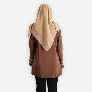 Salina Basic Blouse (dark brown)
