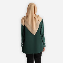 Load image into Gallery viewer, Salina Basic Blouse (dark green)