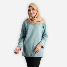Load image into Gallery viewer, Salina Basic Blouse (turquoise)
