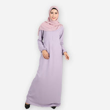 Load image into Gallery viewer, Raahima Premium Jubah (purple)