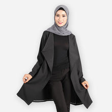 Load image into Gallery viewer, Aisha Premium Elegant Blazer (black) - HannahSG