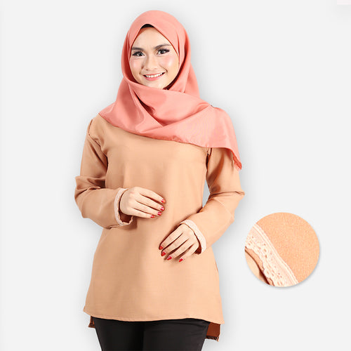 Ayshah Basic Blouse (khaki)