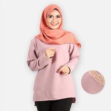 Load image into Gallery viewer, Ayshah Basic Blouse (purple)