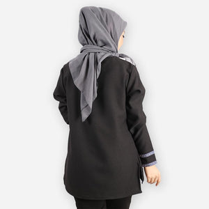 Adiba Basic Blouse ( black)