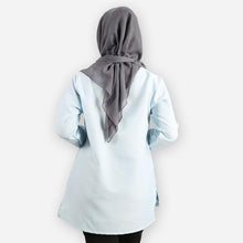 Load image into Gallery viewer, Adiba Basic Blouse (light blue)