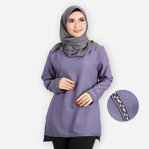 Adiba Basic Blouse (lilac)