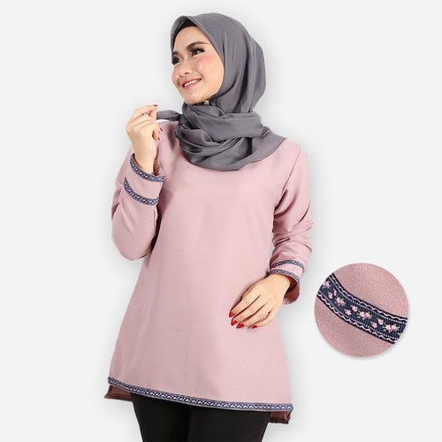 Adiba Basic Blouse (purple)