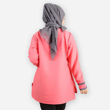 Load image into Gallery viewer, Adiba Curvy Basic Blouse (rose)