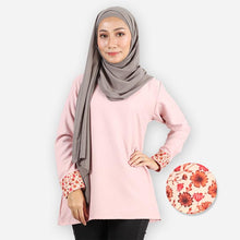 Load image into Gallery viewer, Hazirah Basic Blouse (pink)