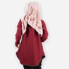 Load image into Gallery viewer, Damia Polka Blouse (dark red)