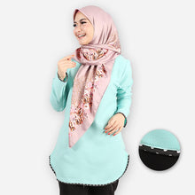 Load image into Gallery viewer, Damia Polka Blouse (mint green)