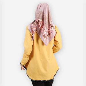 Damia Polka Blouse (yellow)