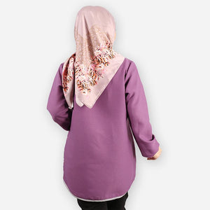 Delima Basic Blouse (dark purple)