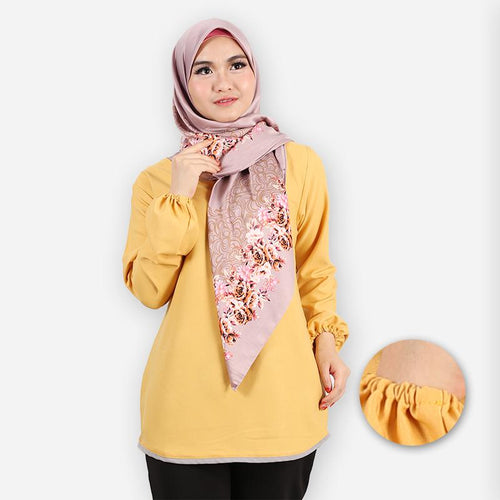 Delima Basic Blouse (yellow)
