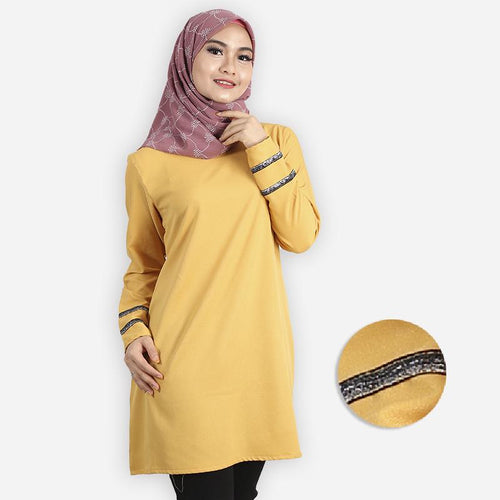 Feeroza Curvy Long Blouse