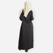 Load image into Gallery viewer, Dina Premium Jubah (black)
