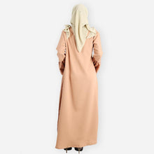 Load image into Gallery viewer, Adeela Premium Jubah (khaki)