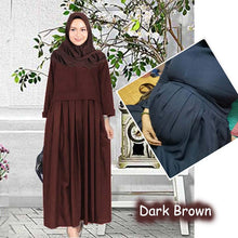 Load image into Gallery viewer, Alia Flowy Jubah B