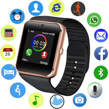 Carregar imagem no visualizador da galeria, Relogio bluetooth smart watch com camera secreta